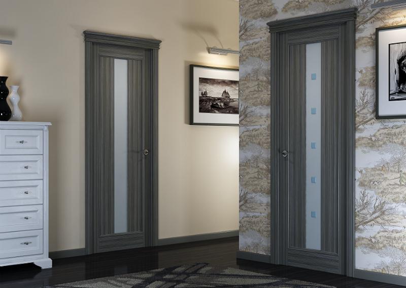Плинтус, двери и наличники в одной цветовой гамме