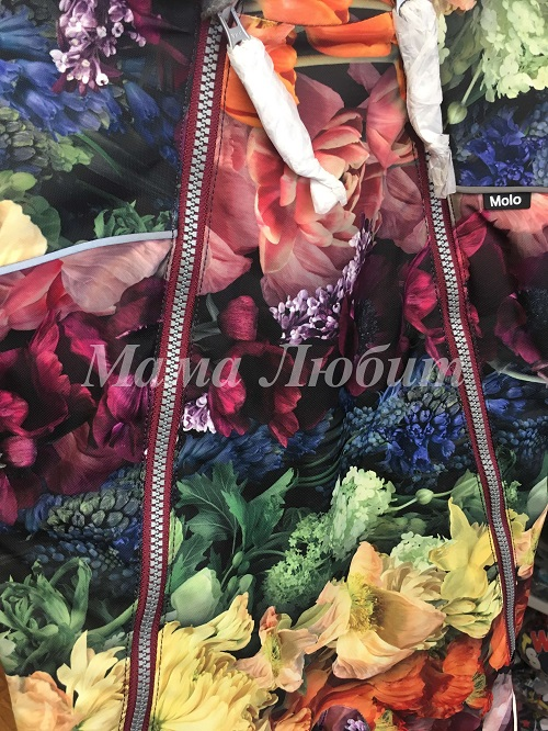 Зимний комбинезон Molo Pyxis Flower Rainbow в интернет-магазине Мама Любит