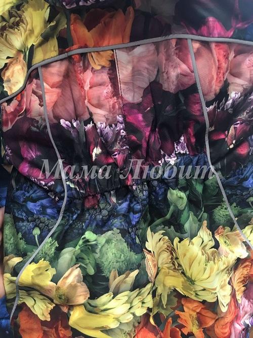 Детский комбинезон Molo Pyxis Flower Rainbow в интернет-магазине Мама Любит