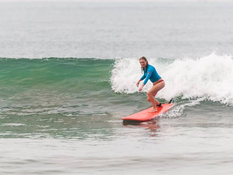 Серфинг фотосессия