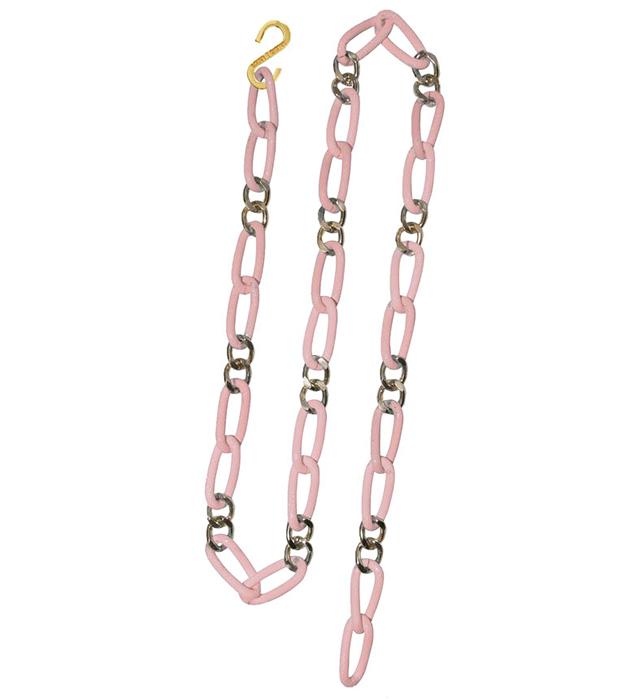 купите длинную цепь модного розового цвета от Sister Sister Project