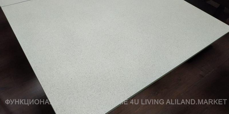 Стол-трансформер B2275 - закалённое стекло с керамическим напылением