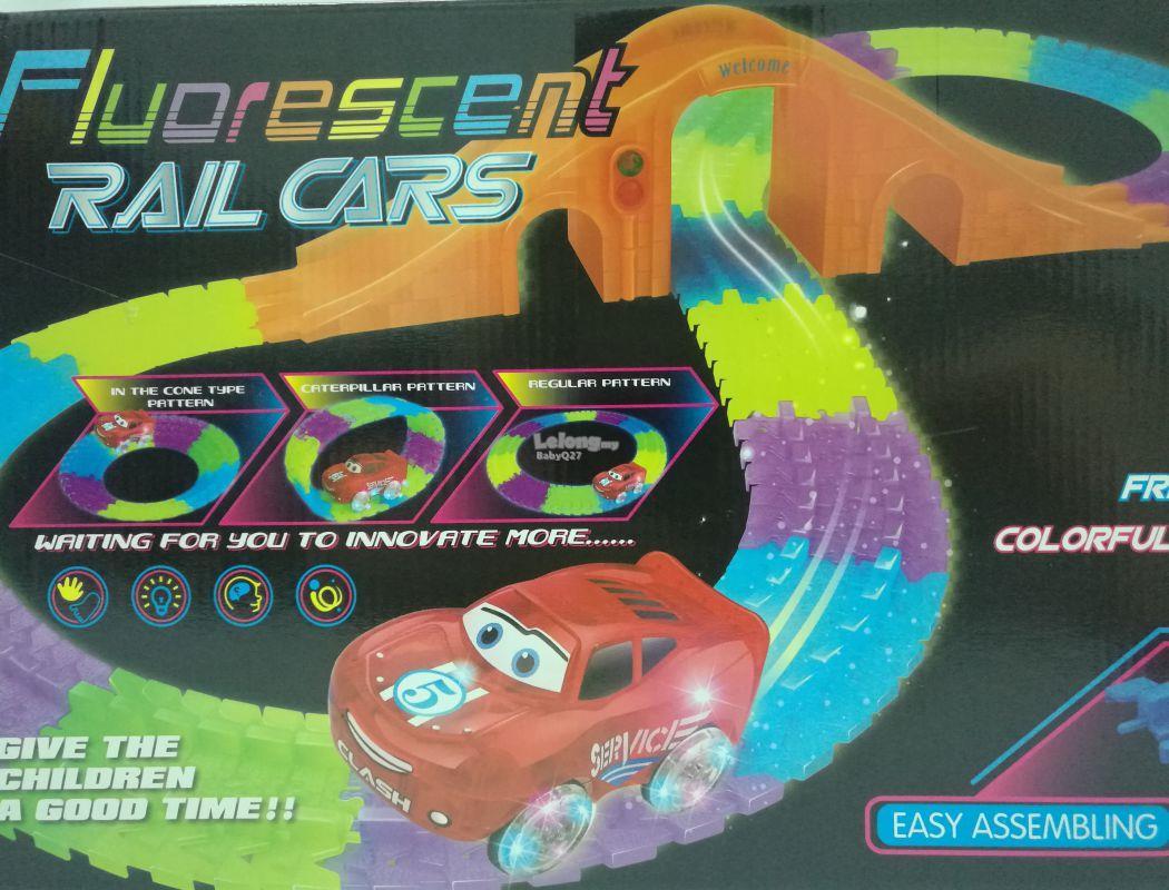 Гибкая Чудо-Трасса Track Car Noctil Ucent +машинка оптом