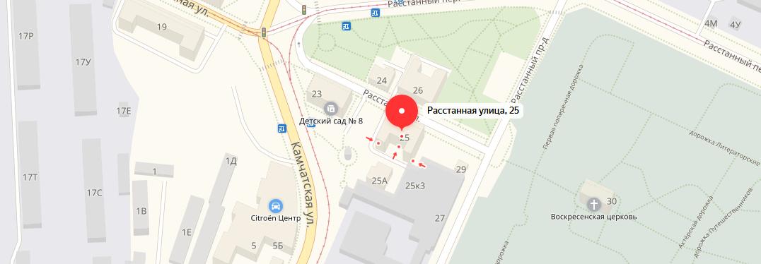смотреть расположение офиса компании великоросс в санкт-петербурге на карте