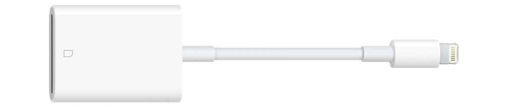 Оригинальный адаптер Lightning to SD Card Camera Reader MJYT2ZA/A для чтения SD-карт на iPhone, iPad и iPod с разъёмом Lightning