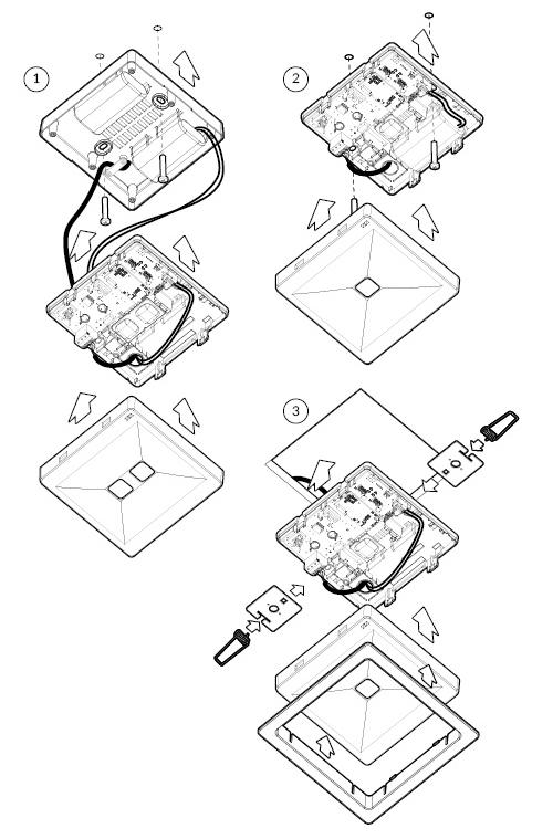 Монтаж светового указателя ONTEC-R E1