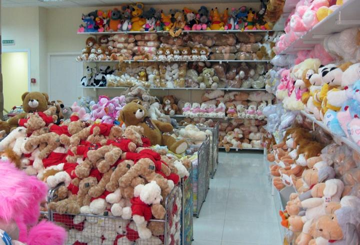 Мягкие игрушки можно покупать непосредственно у отечественных производителей