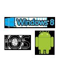 Предназначена для Windows 8, совместима с Android и iOS