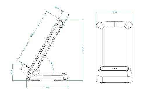 Зарядка-подставка T900