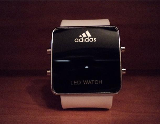 7fb3c2fb ❤Светодиодные часы ❤ Adidas led watch купить за 499руб! |Отзывы| Фото