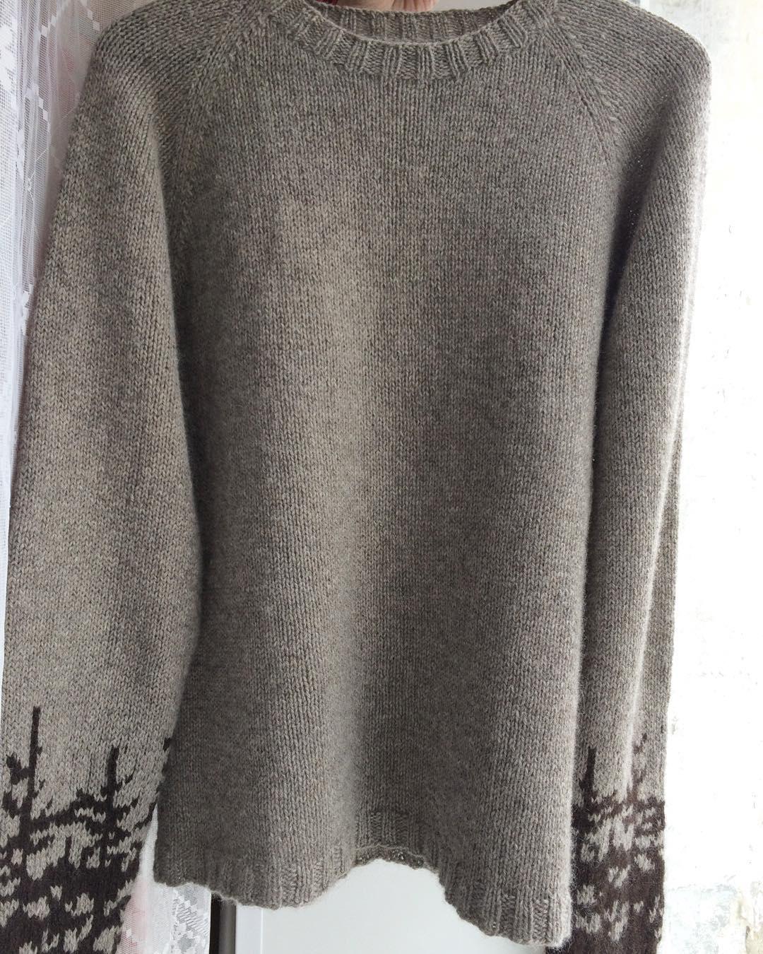 свитер из яка
