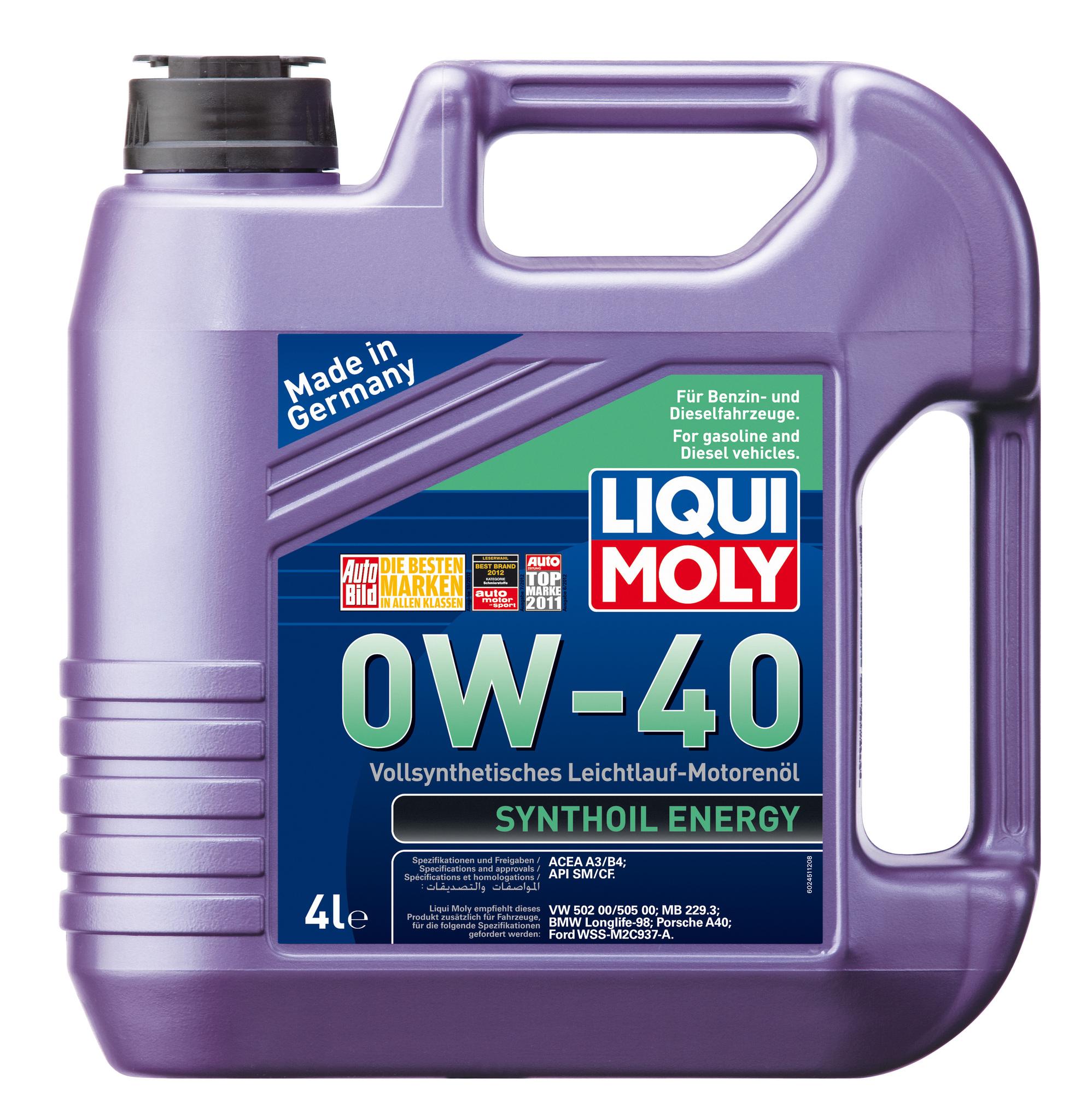 Зимнее масло вязкостью 0w40