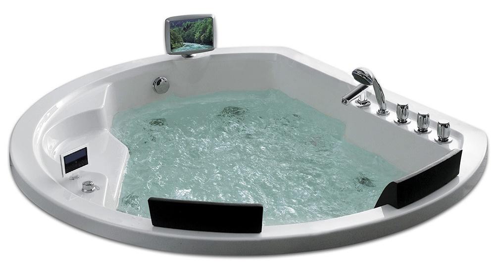 Акриловая ванна джакузи Gemy G9053 O