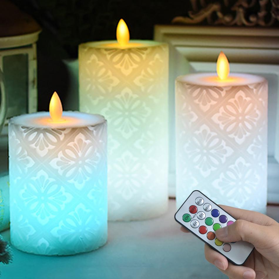 Красивые светодиодные свечи