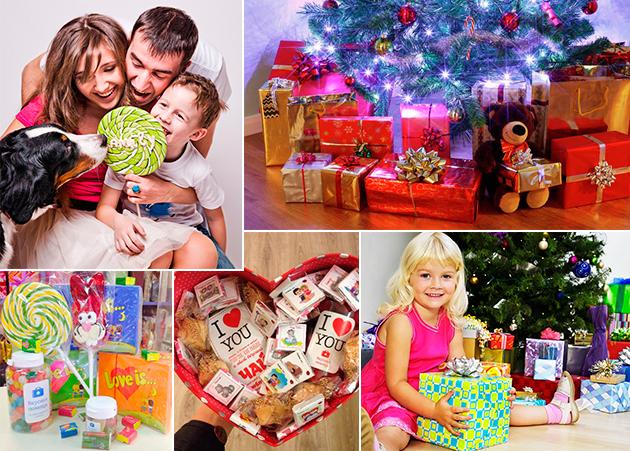 Детские подарки на Новый год