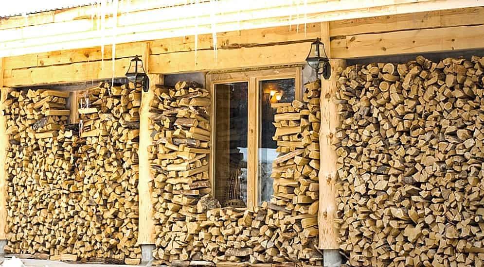Хранение дров