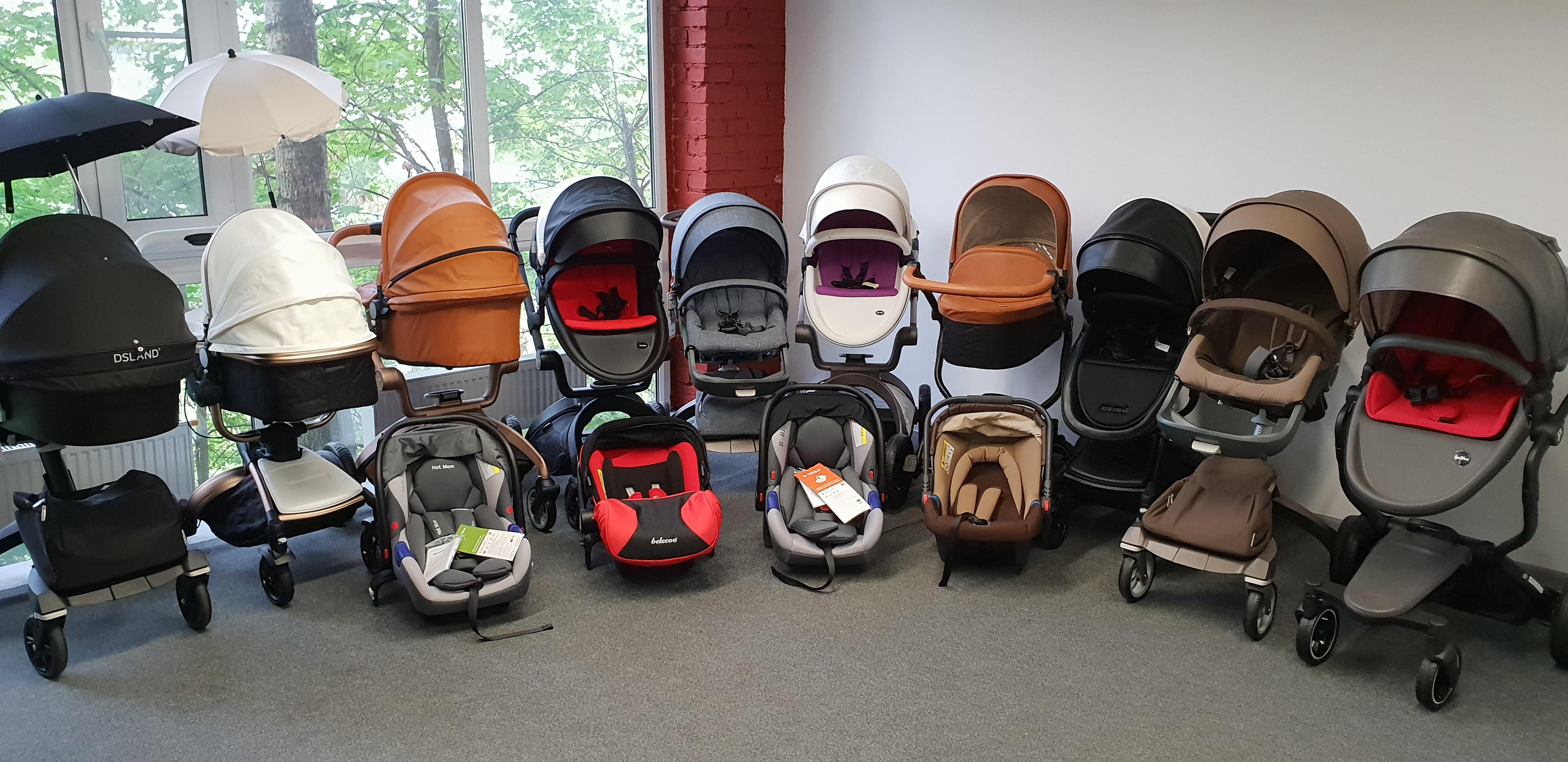 Детские коляски 2 и 3 в 1: Hot mom, FooFoo, Aulon, Dsland и др.