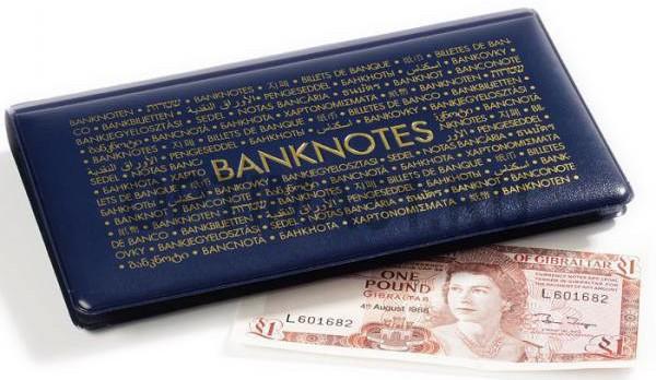 Карманный альбом для банкнот