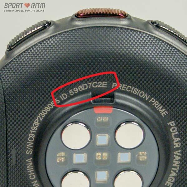 Часы Polar Vantage V Titan - индивидуальный номер