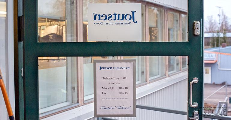Фирменный магазин Joutsen в Риихимяки