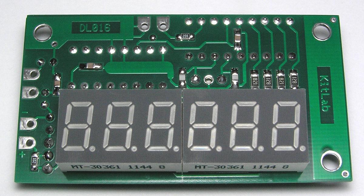 DS018 Цифровая Шкала Трансивера / Частотомер до 50 МГц. Индикаторный модуль DL016.