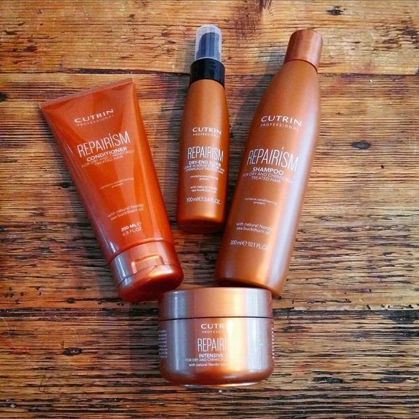 косметика для восстановления волос Cutrin