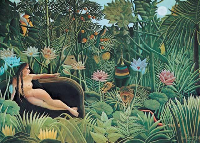 вдохновением для создания коллекции послужили картины Анри Руссо