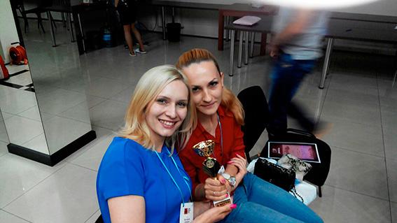 Гладышева Ольга и Виктория Довжик