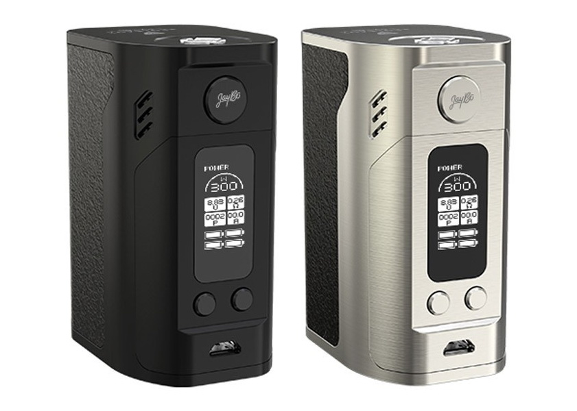 Wismec Reuleaux RX300 (Black and Silver)