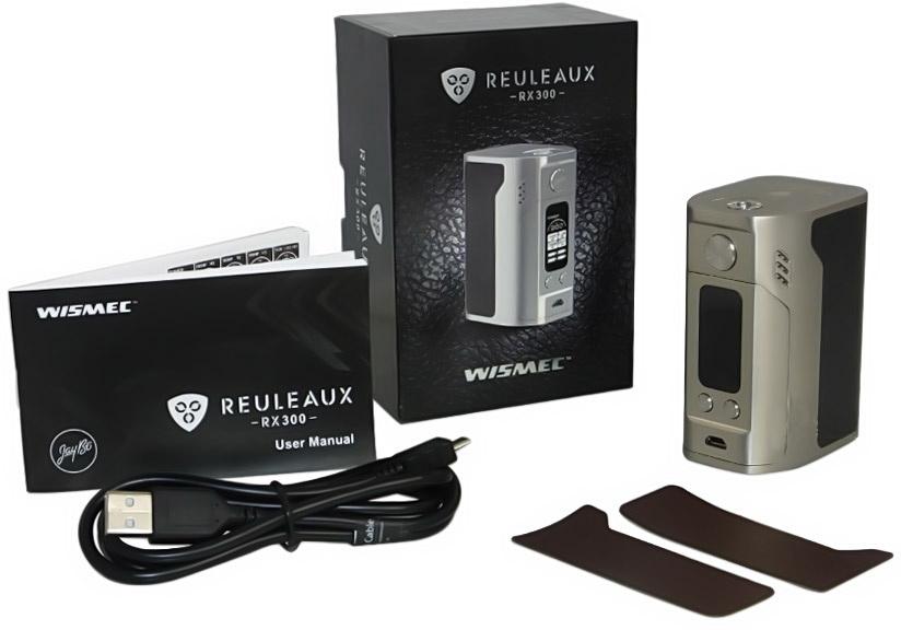Wismec Reuleaux RX300 (комплектация)
