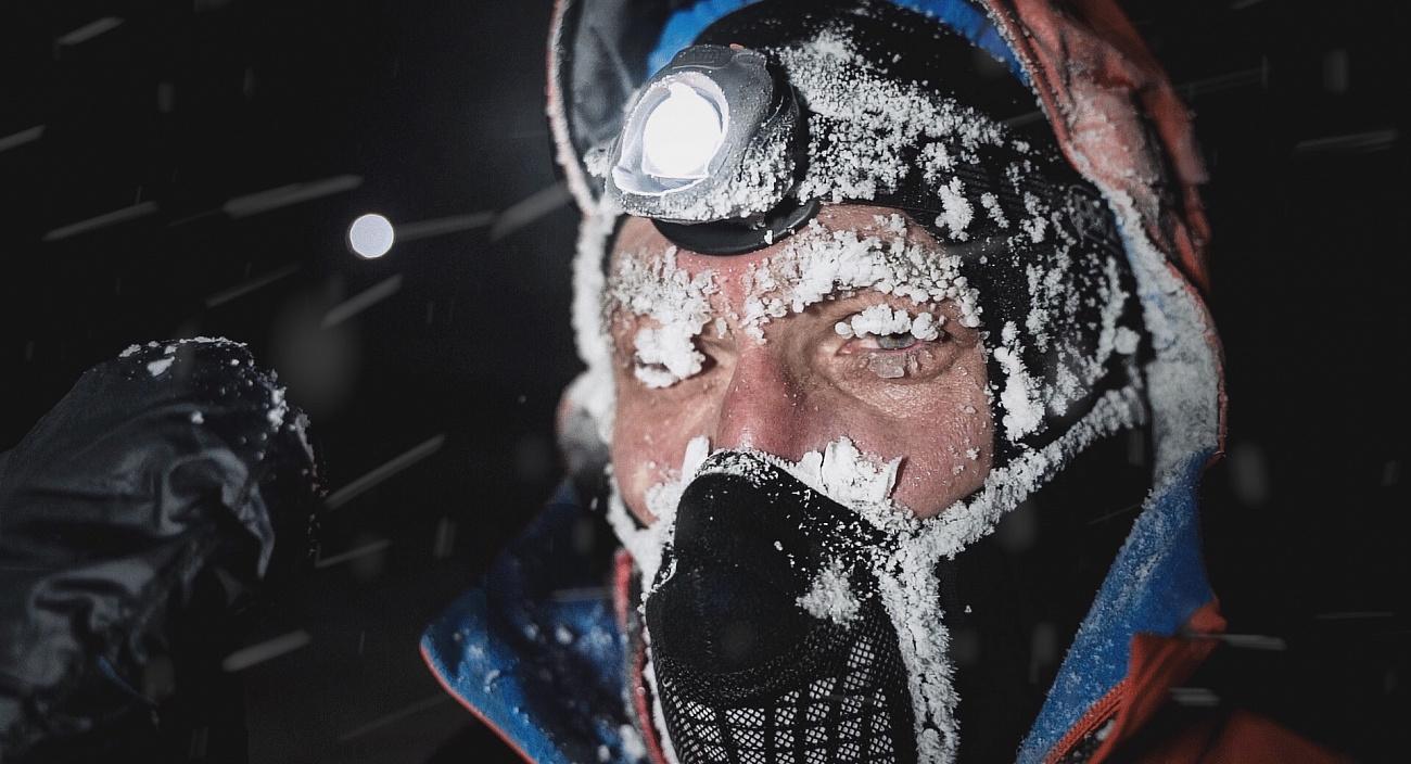 При экстремально низких температурах затрудняется дыхание бегуна