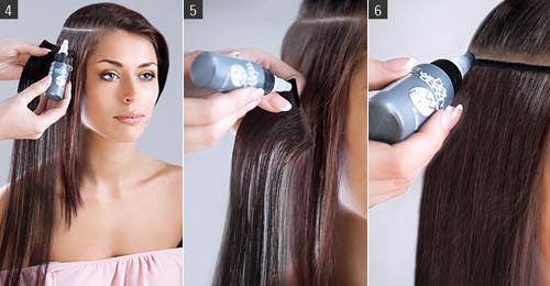 Процедура классического наращивания волос