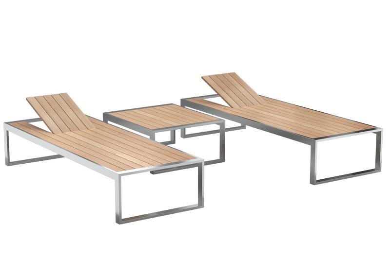 садовая мебель из дерева и металла от производителя