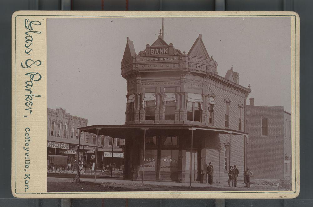 фото американского банка времён Дикого Запада