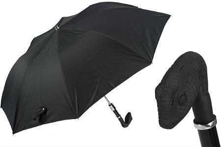 Зонтик черный змей Pasotti