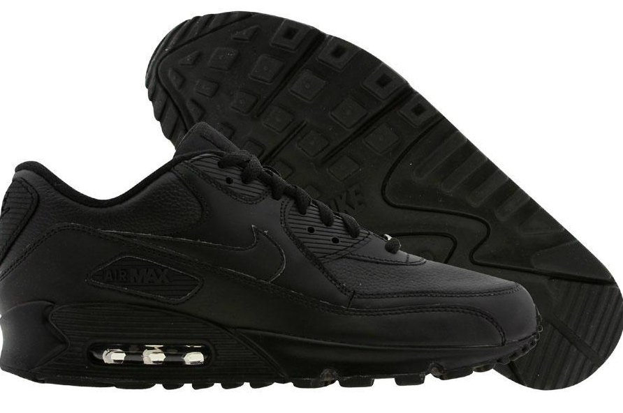 Nike_Air_Max_90_Black_Leather_Krossoffki.ru