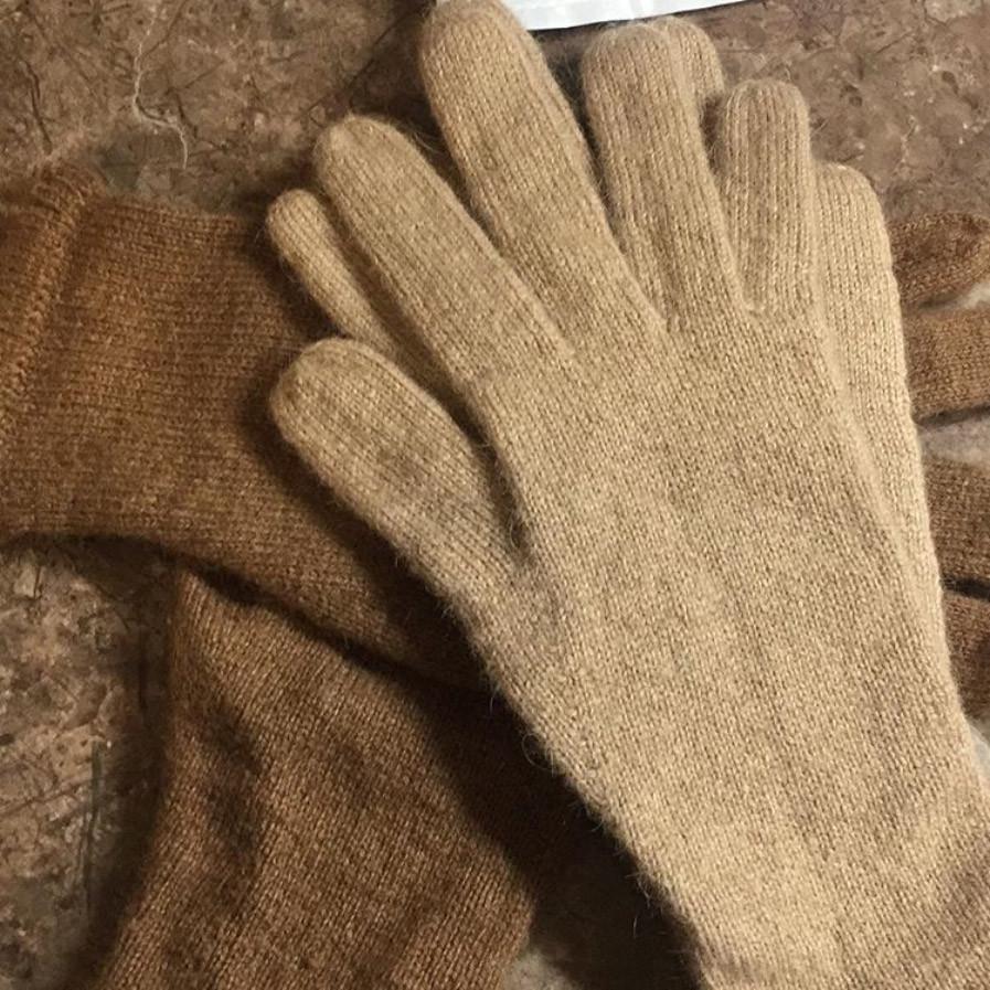 верблюжий пух перчатки