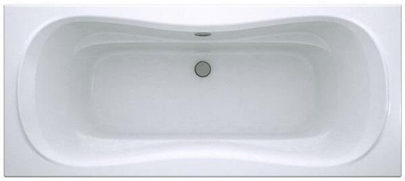 Прямоугольная акрииловая ванна