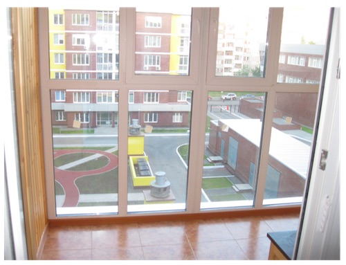 Балкон в доме серии 11-57
