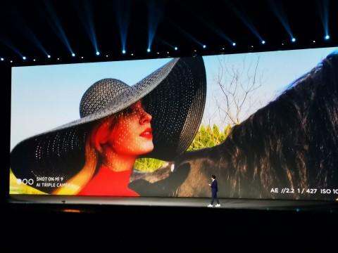 Xiaomi MI 9 контраст