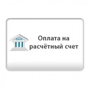 Вариант оплаты на расчетный счет для организаций