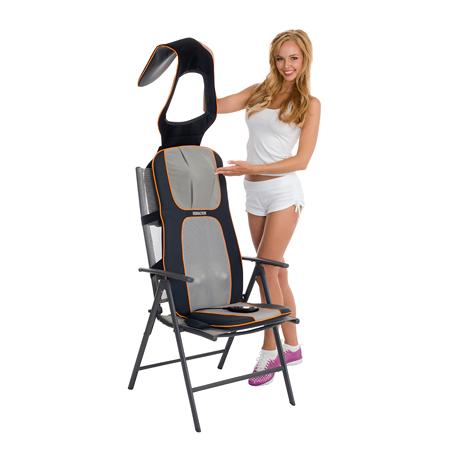 Массажные накидки на кресло для дома Шиацу