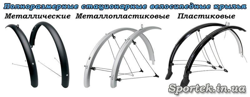 повнорозмірні стаціонарні крила на велосипед