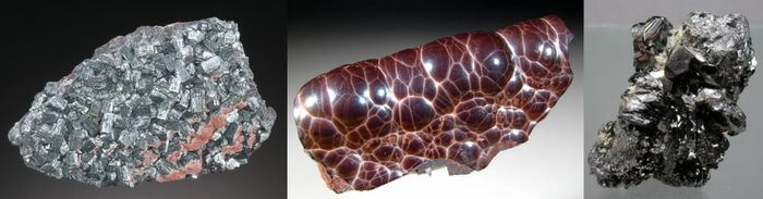видовое разнообразие гематита