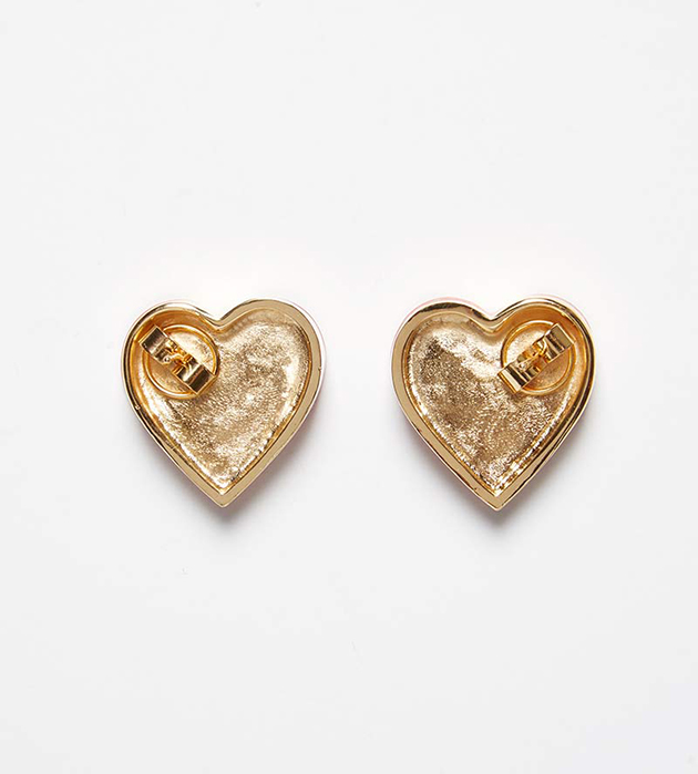 купите эффектные серьги-сердечки Heart White от ANDRES GALLARDO