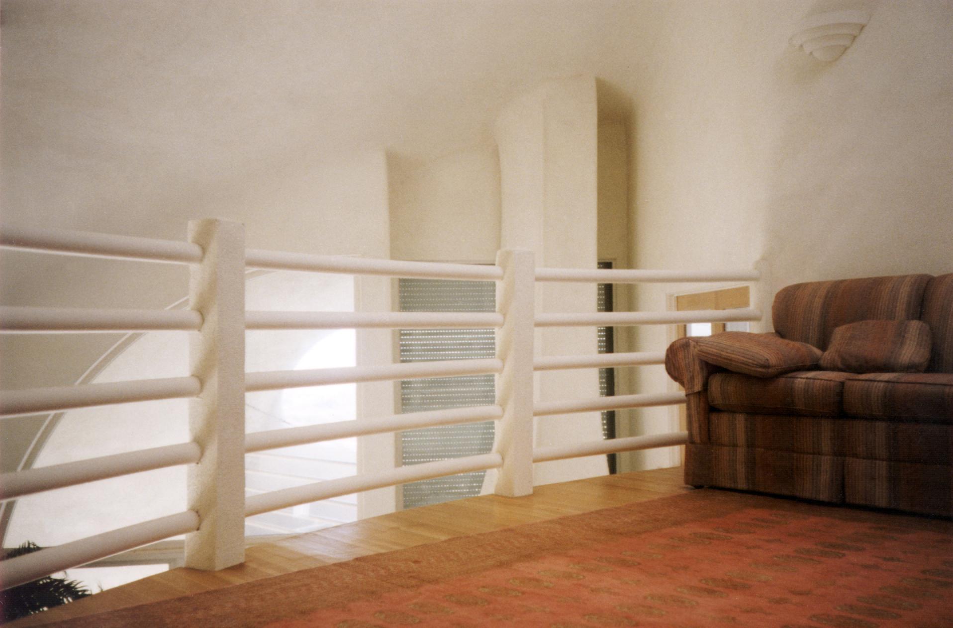 третий уровень купольного дома.