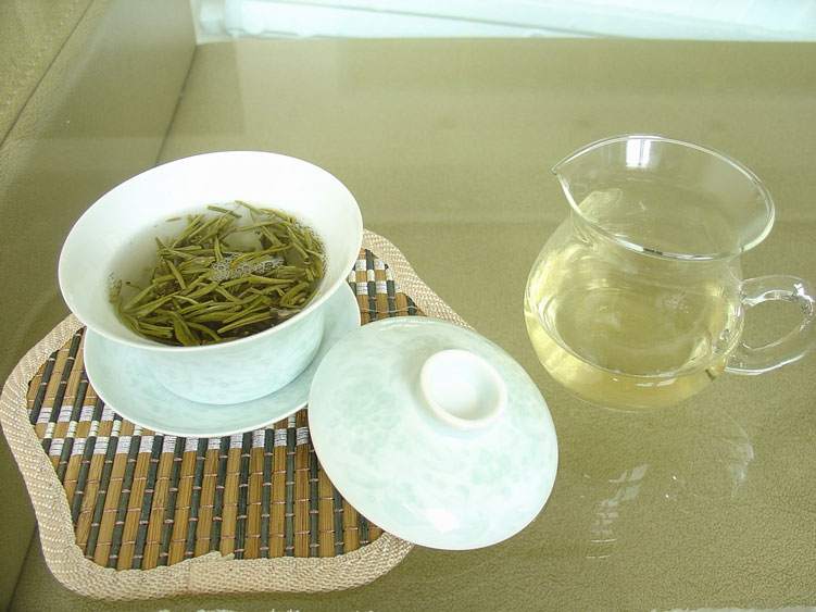 настой желтого чая