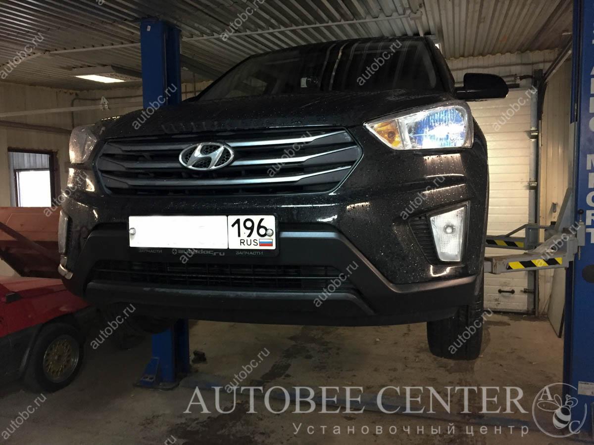 Hyundai Creta (установка  тюнинг туманок)