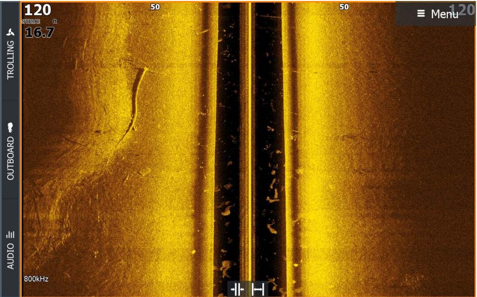 Боковой обзор Active imaging