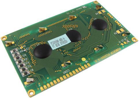 Модуль RC017. Символьный LCD дисплей 20x4 на базе контроллера HD44780